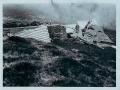 Zničená strecha maštale na Kojšovskej holi